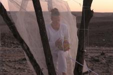 desert Arad, performance festival ZAZ, death, dump, thread of life