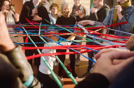 weaving, networking, Arad, SUMO, exhibition, Festival ZAZ