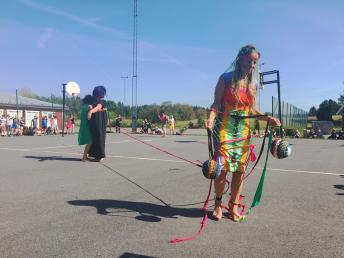 Joy of Weaving- Sports, K.R.O.P.P. Lab, Play and Fun, Performanceart