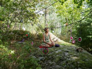 human interventions in nature, transciency, performance, landart, Art Lab
